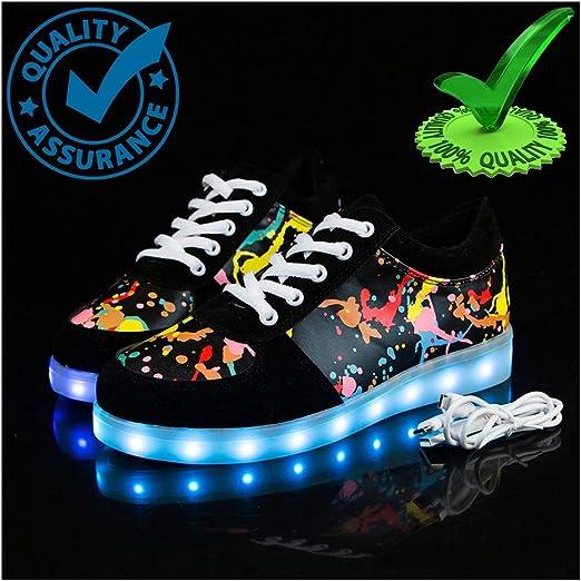 WXBYDX Zapatos Luminosos,Zapatos De Luces LED Zapatos