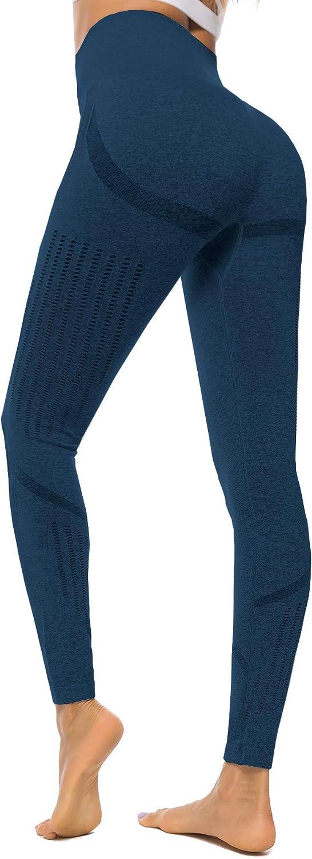 Women Ombre Seamless Leggings Yoga Fitness Sport Slim Running Gym Workout Tights Butt Lift Yoga Pants