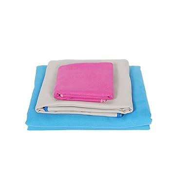 Magtimes El Mejor Conjunto De Toallas Magtimes para Camping Incluye Toallas Compactas De Microfibra De Secado