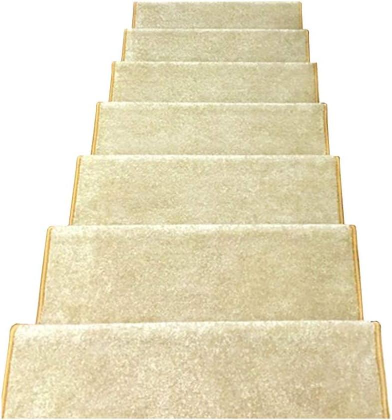 Stairway Carpet Alfombra Antideslizante para Escalera de Madera Maciza, Tipo Hebilla mágica para escaleras: Amazon.es: Hogar