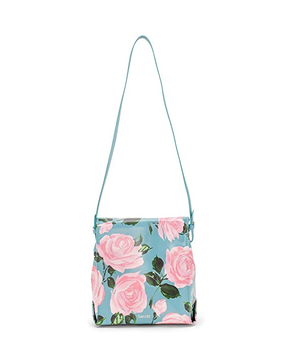 Bando Lunch Tote Crossbody Bag Rose Parade