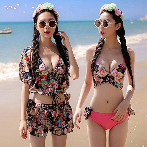 YUPE Hot spring Badeanzug Europäischen und Amerikanischen Stil Rock Bademode weiblichen Triangel Bikini