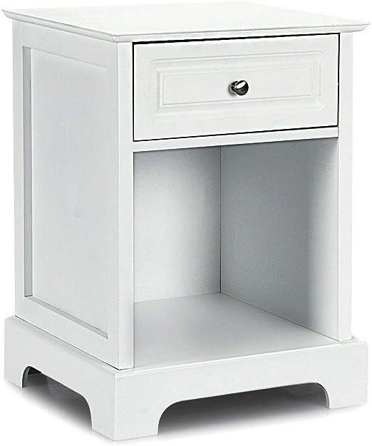 Modern Bedside Cabinet Sofa Side Storage Table Nightstand Organizer Book Shelves