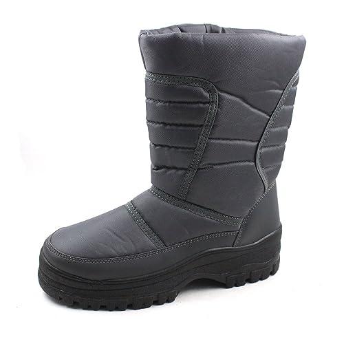 Skadoo Mens Snow Winter Cold Weather Boots 7701 Gray Size 13  Amazon ... ef5e75cbb