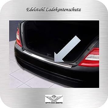 3235658 Spangenberg Edelstahl Ladekantenschutz Mercedes Benz C-Klasse W204 Limousine Stufenheck vor Facelift Baujahre 03.2007-02.2011 Art