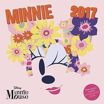 Calendar 2017 Minnie Mouse Disney wall calendar 30 x 30 cm: Amazon ...