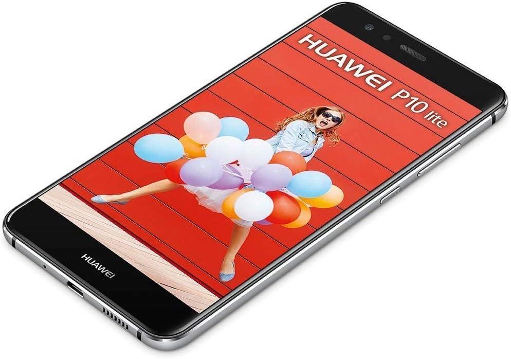 Huawei P10 Lite 4G 32GB 3GB RAM Midnight Black EU: Amazon.es ...