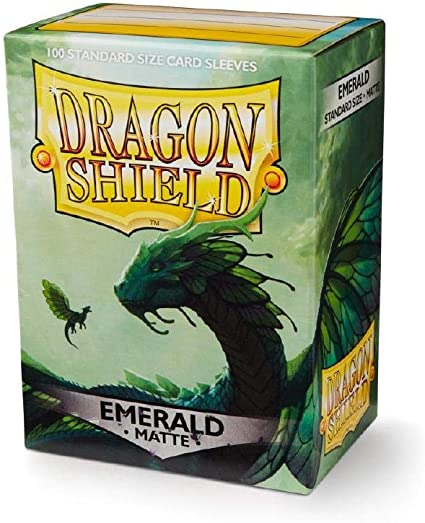 Dragon Shield Sleeves Classic Green 100
