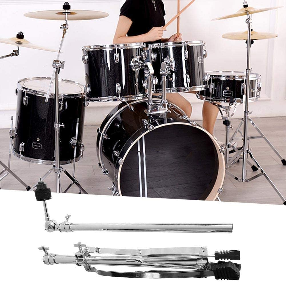 Light Weight Portable Percussion Accessories Tripod Drum Cymbal Stand Holder Cymbal Stand