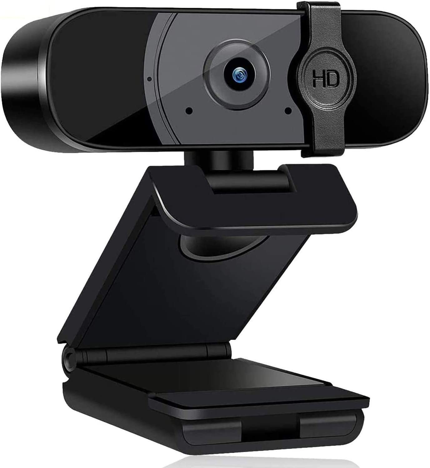 2K Webcam with Microphone for Desktop,Computer Streaming Web Camera USB Webcam with Privacy Cover Auto Light Correction Desktop Laptop Webcam for Video Conferencing, Teaching, Streaming