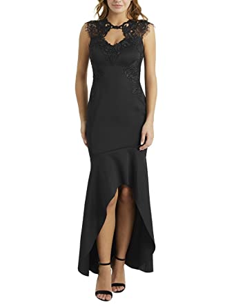 c51e60dd770dd7 Lipsy Women s Skater Dress - Black - UK 6  Amazon.co.uk  Clothing