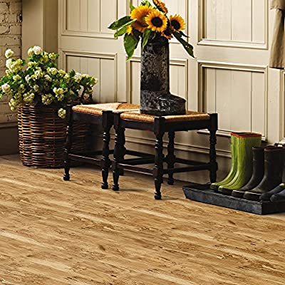 Mannington Hardware 26510 (S) Revolutions Collection Spalted Maple Laminate Flooring,, 8Mm,, Natural