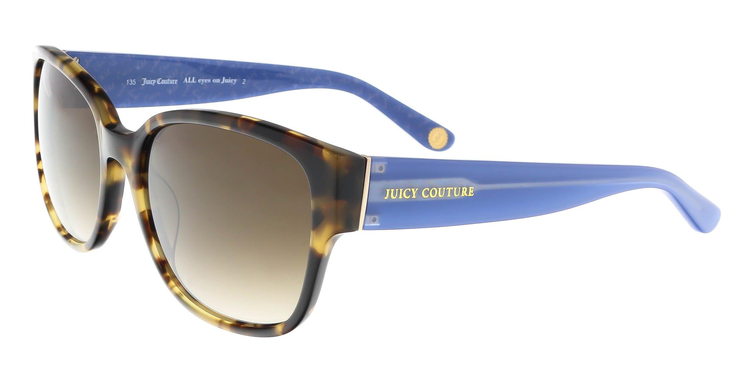 Juicy Couture W-SG-3000 Juicy Couture Juicy 573-S 0ESP-Camel Tortoise Womens Sunglasses, 57-18-135 mm