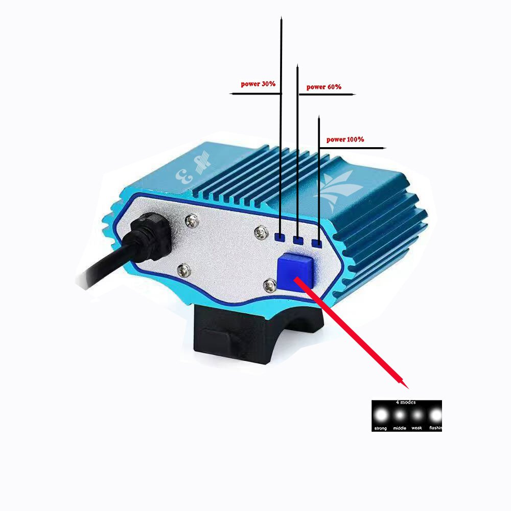 E-Fun Faro Bicicletta Anteriore LED Luce luci per Bici Bicicletta MTB,Torcia da Testa Lampada Frontale Bici Faro, 3X CREE XML Luce LED Bici /& Posteriore Bicicletta 4 modalit/à,3 LED