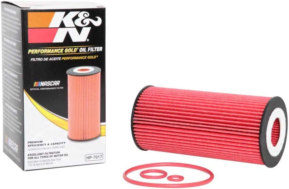 K&N Premium Oil Filter: Designed to Protect your Engine: Fits Select 2004-2010 CHEVROLET/MERCEDES BENZ (Captiva Sport, E320), HP-7017