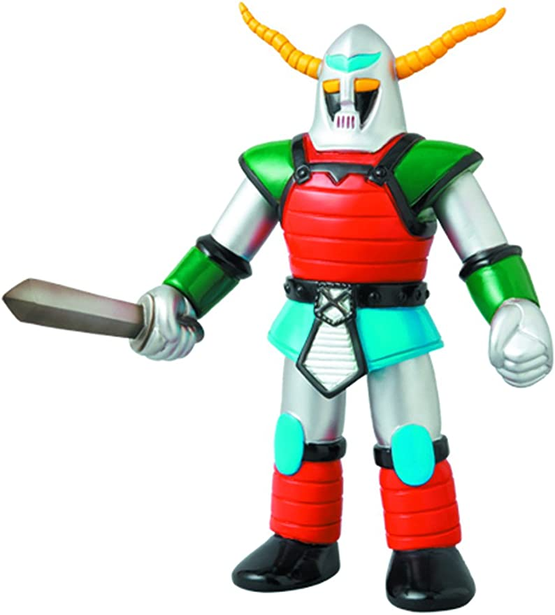 Medicom Mazinger Z: Kikaijyu Kingdan X10 Sofubi Action Figure (Retro Color Version): Amazon.es: Juguetes y juegos