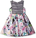 Pippa & Julie Little Girls' Printed Party Dress