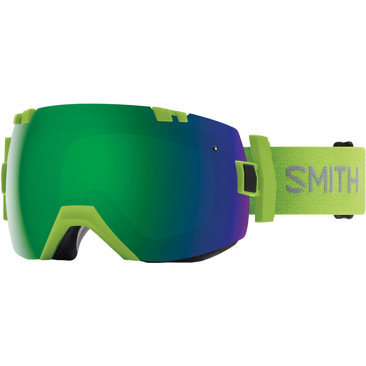 Smith Optics I/Ox - Asian Fit Adult Snow Goggles - Flash/Chromapop Sun Green Mirror