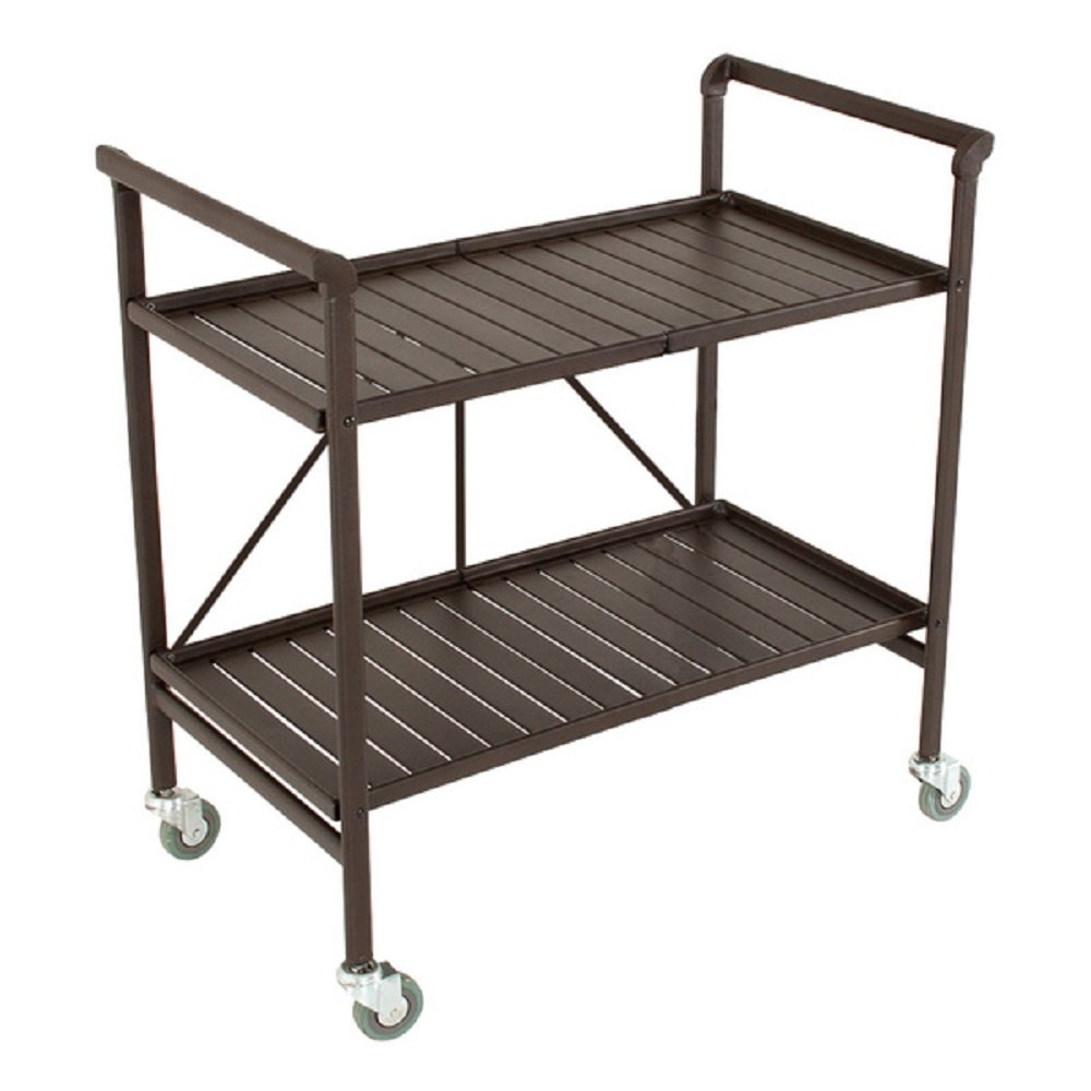 Amazon.com   Serving Cart For Dining Room Outdoor Folding Rolling Wheels  Serving Cart Bar Wheels Portable Trolley Storage Home Kitchen Indoor Food  Cocktail ...