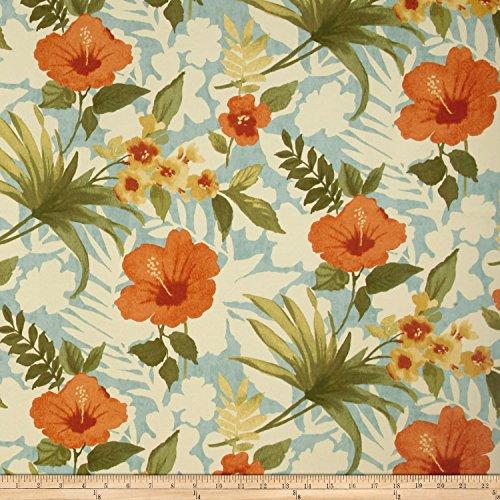 Waverly Fabrics Tommy Bahama Indoor/Outdoor Pool Party, Fabric, Seaspray,...