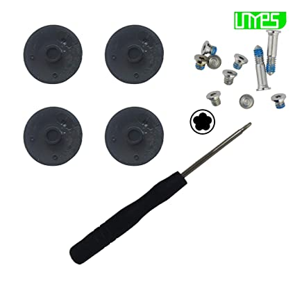 Brand New Plastic no Rubber Bottom Case Cover Feet Foot Kit+screw Set+tool For Macbook Air 13 A1369 A1466 2010-2018 Years