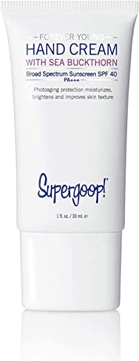 Supergoop! Forever Young Hand Cream with Sea Buckthorn SPF 40