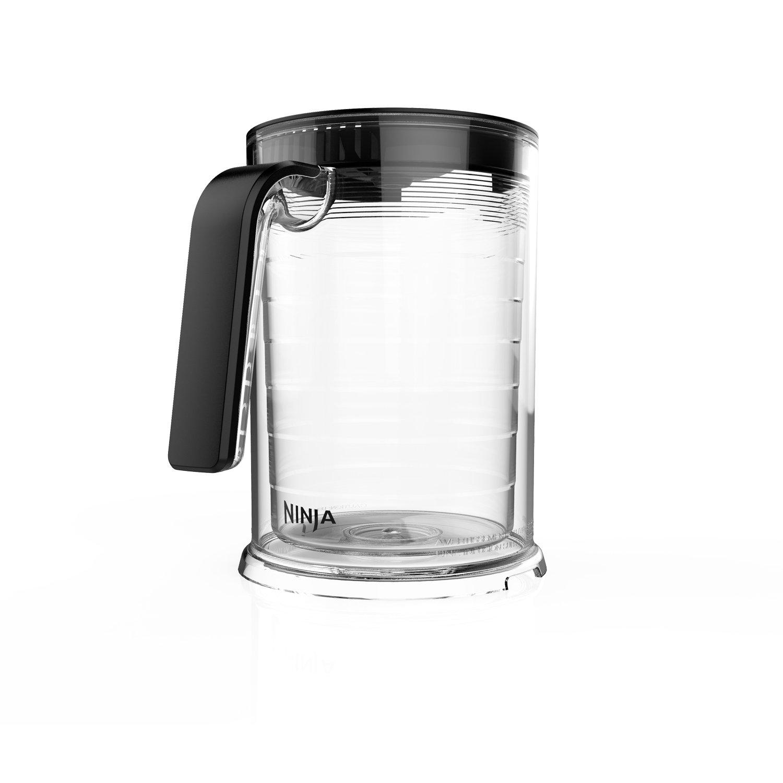 Ninja Coffee Bar 50-Ounce Double-Wall Tritan Over Ice Carafe for Iced Coffee and Tea (CFICE50W)