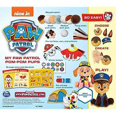 Klutz Jr. My Paw Patrol Pom-Pom Pups Craft Kit: Toys & Games