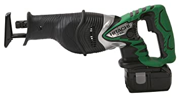 hitachi reciprocating saw. hitachi cr18dl 18-volt li-ion reciprocating saw kit (discontinued by manufacturer)
