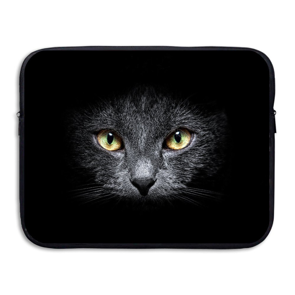 70%OFF Business Briefcase Sleeve Cat Eye Pattern Laptop Sleeve Case Cover Handbag For 15 Inch Macbook Pro / Macbook Air / Asus / Dell / Lenovo / Hp / Samsung / Sony