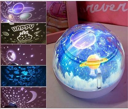 YJDQXKD Iluminación Proyector Estrellas,Cuarto de Los Niños ...