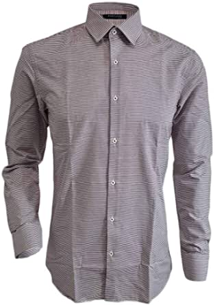 Marciano Guess - Camisa de Rayas Blancas y moradas, Talla 39 ...