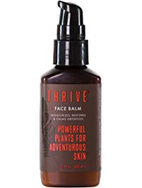 Thrive Natural Mens Face Lotion – After Shave Balm for Men & Non-Greasy Facial Moisturizer Made in USA with Natural...