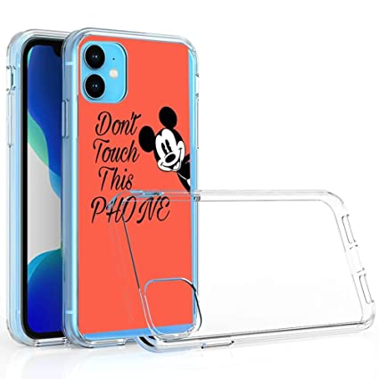Amazoncom Disney Collection Clear Case Uv Printing Tpu