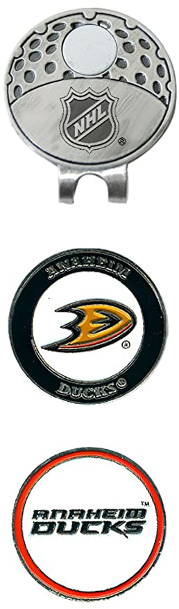58b1bd1c047 Team Golf NHL Anaheim Ducks Golf Cap Clip with 2 Removable Double-Sided  Enamel Magnetic