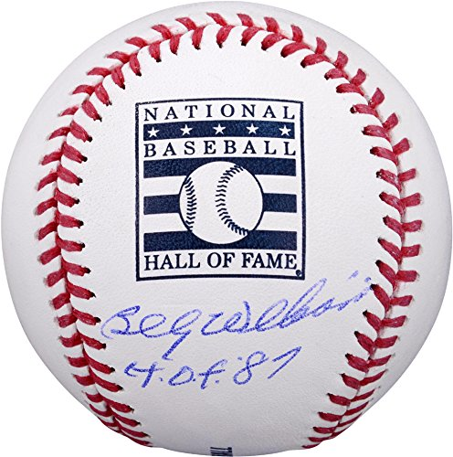 Hall Of Fame Sports Memorabilia - Billy Williams Chicago Cubs Autographed Hall of Fame Baseball with
