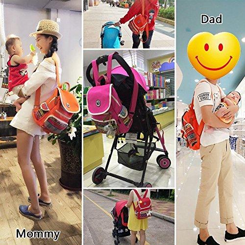 Bolsos Cambiadores Maternidad Bebe Multifuncional Viajar Cambiador Negra PañAles Mochila Papà Mama negro