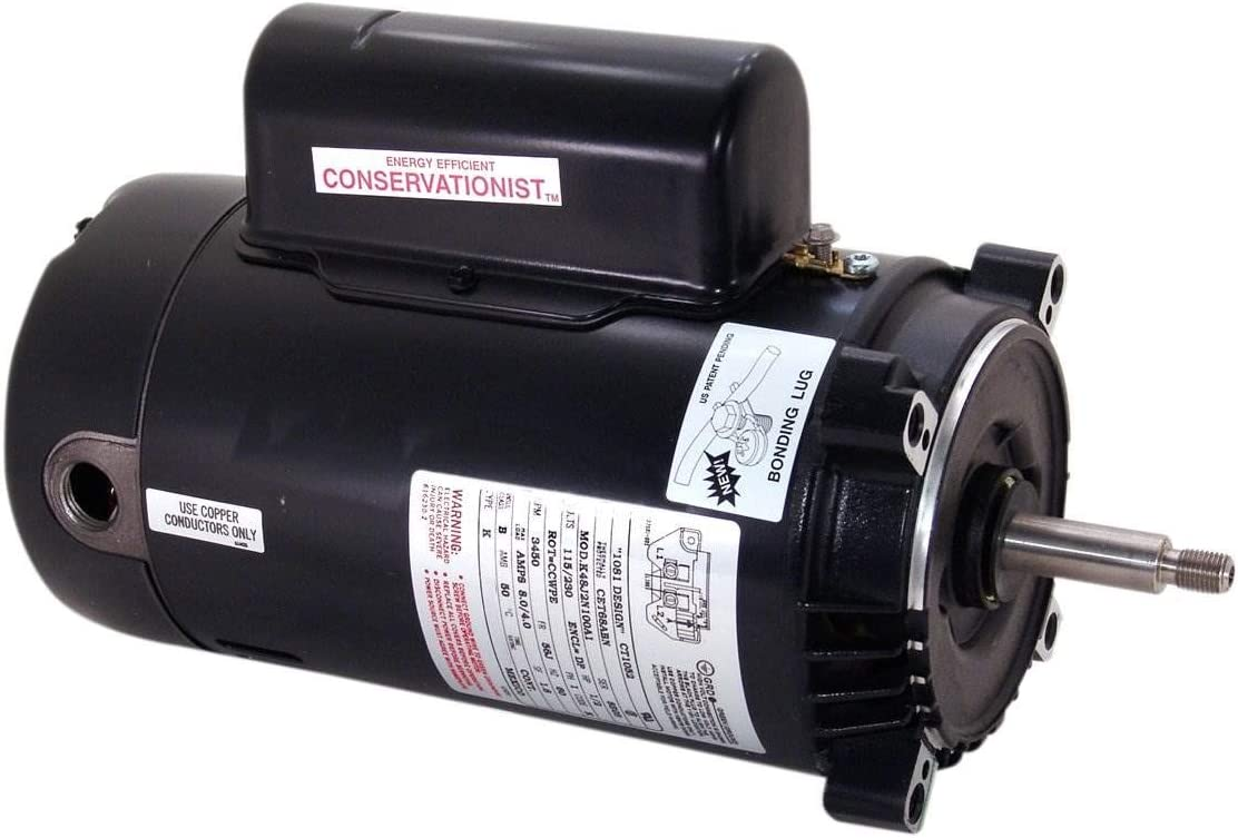 Century Electric UST1252 2 1/2-Horsepower Up-Rated Round Flange Replacement Motor (Formerly A.O. Smith)