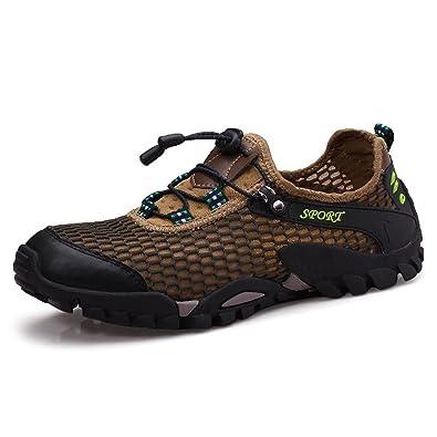 SCIEU Herren Wanderschuhe Sports Outdoor Trekking Schuhe Leichte Atmungsaktiv  Turnschuhe Laufschuhe Sneakers af04944334