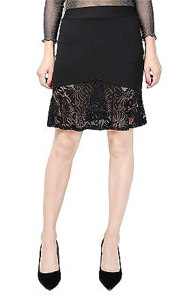 Faldas para Mujer Casual Verano De Falda Moda De Falda Ropa ...