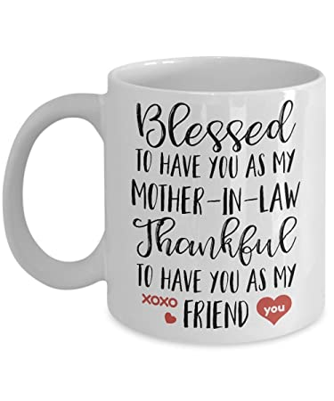 Amazoncom Mother In Law Gifts From Bride Blessed To Have You As