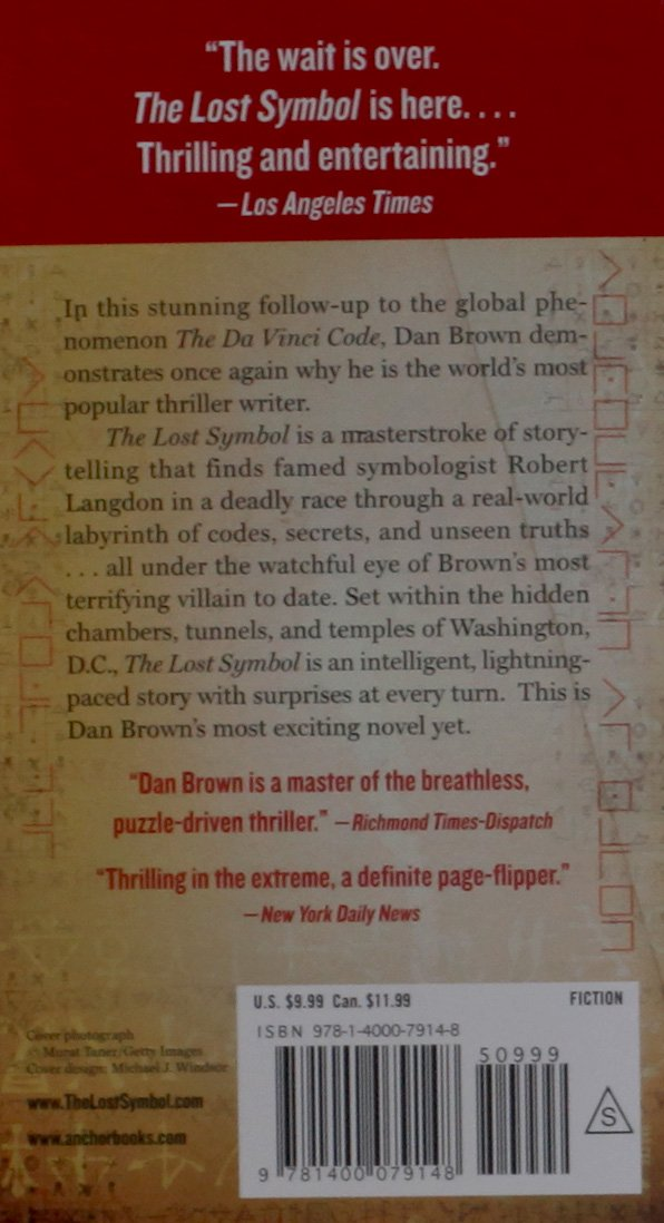 The Lost Symbol Dan Brown Ebook