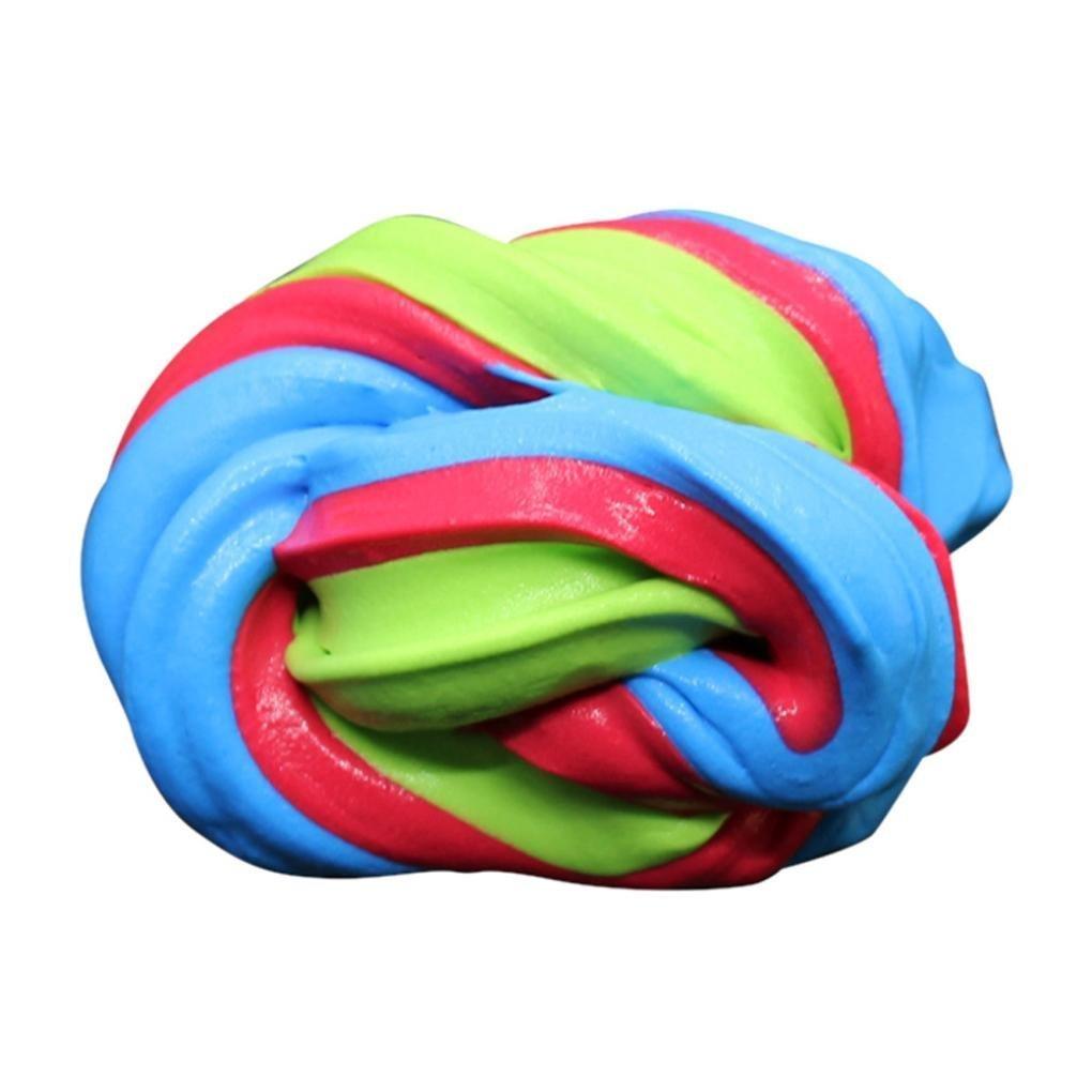 argilla non tossico Argilla creativa modellazione plastilina magica fatti a mano giocattoli antistress Wiwi.f Fango di cristallo fai da te Kit fango di cristallo