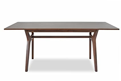 Amazoncom AUBREY MidCentury Modern Dining Table Inches - Mid mod dining table