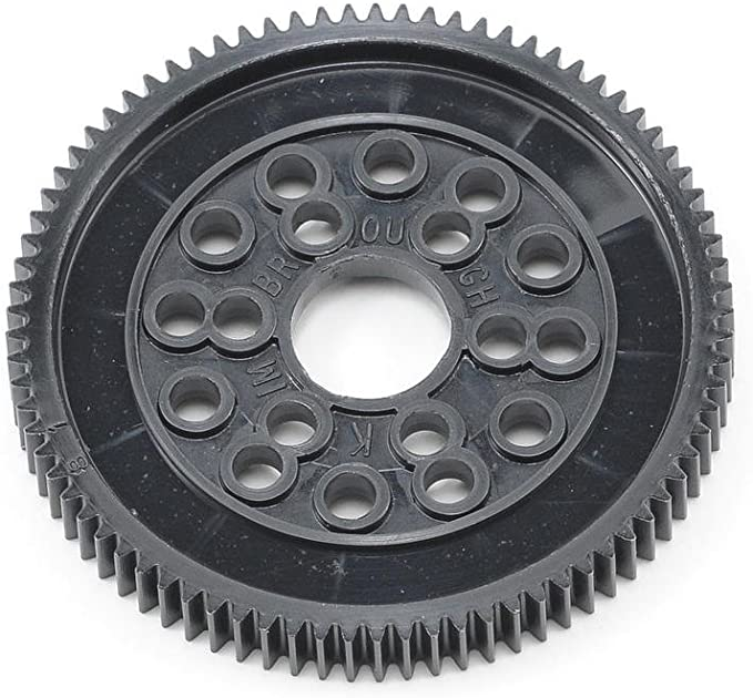 SOLD IN PAIRS 25 TEETH NEW NON METALIC SPUR GEAR 20 PITCH