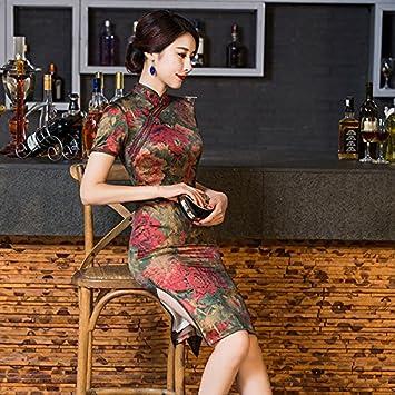 GUYIVVU Cheongsam Neue Ankunft Chinesischen Traditionellen Kleid ...