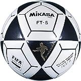 Mikasa FT5 Goal Master Soccer Ball, Black/White, Size 5