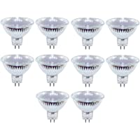 10 x halogeenlamp 50W GU5,3 MR16 12V FL 50 Watt lamp 38°