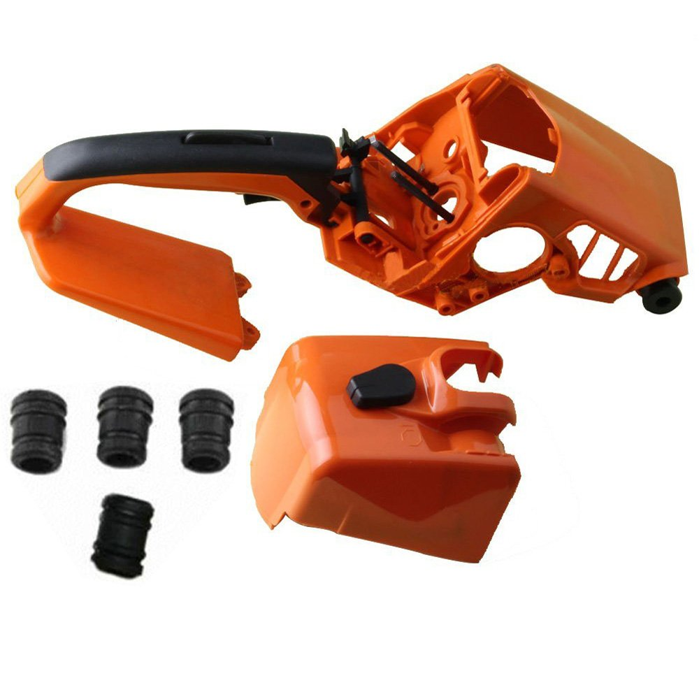 Hippotech Handle Cylinder Cover AV Buffer Set Fits for STIHL 021 023 025 MS250 MS230 MS210 Chainsaw by Hippotech