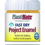 Plastikote B11W 59 ml Enamel Paint Bottle - Sunshine Yellow